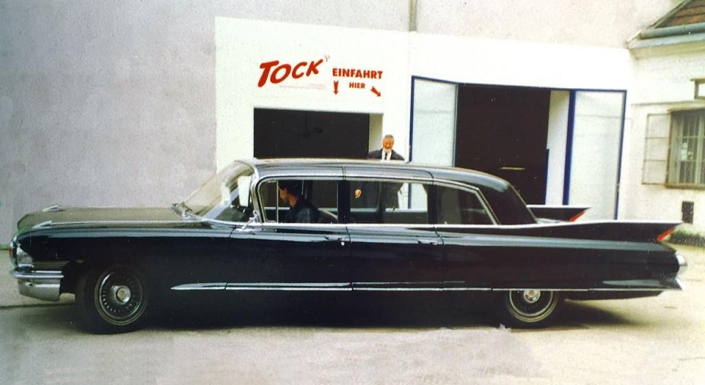 Cadillac Fleetwood JFK -Staatsbesuch 1961
