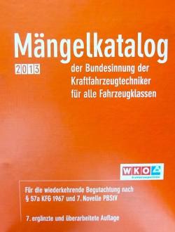 Mängelkatalog 2013 Cover