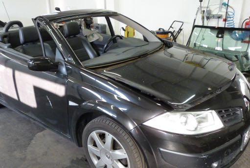 Renault Megane Cabrio oben ohne