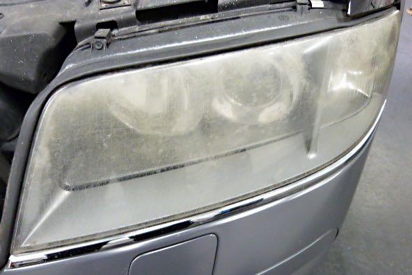 Audi A6 links vorher