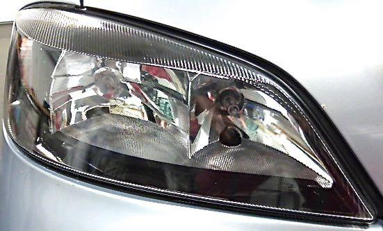 Opel Astra rechts nachher