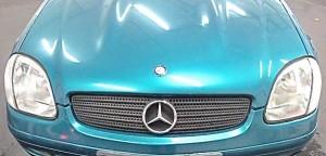 Mercedes SLK nachher