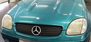 Mercedes SLK vorher